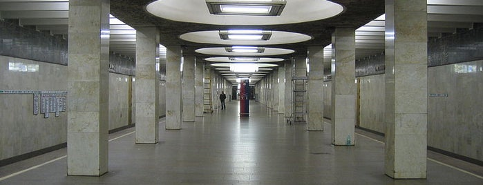metro Orekhovo is one of Complete list of Moscow subway stations.