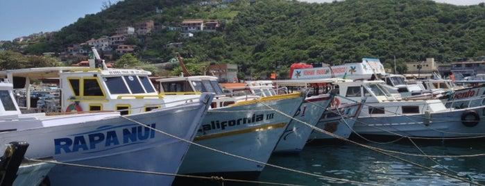 Marina de Arraial do Cabo is one of Roteiro Arraial do Cabo.