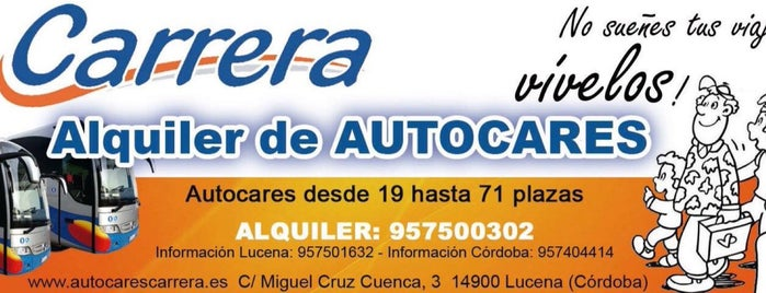 AUTOCARES CARRERA is one of Autobuses Carrera.