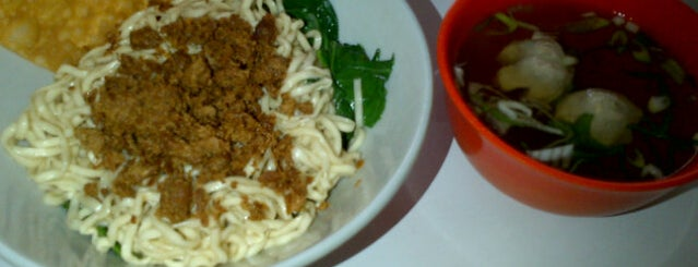 Mie Bangka is one of Visited Places in Yogyakarta :).
