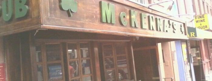 McKenna's Pub is one of New York.