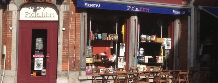 Piola Libri is one of BXL to do.