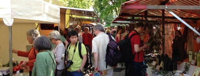 Wochenmarkt Karl-August-Platz is one of mustgos.