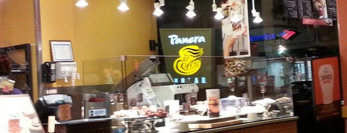 Panera Bread is one of Places to work.