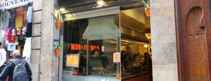 Wok to Walk is one of A comer y a beber.