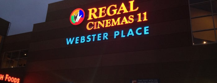 Regal Cinemas Webster Place 11 is one of Zoetrope ( Worldwide ).