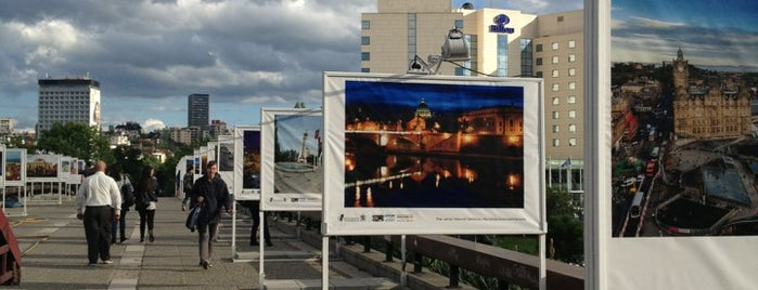 Мостът на влюбените (Lovers' Bridge) is one of Sofia.