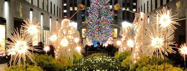 Rockefeller Center Christmas Tree is one of Tourist attractions NYC.