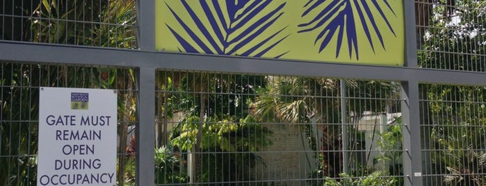 Miami Beach Botanical Garden is one of Where to Get Cultured - Miami.
