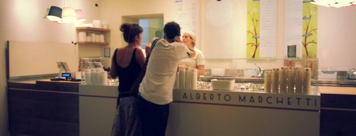 Alberto Marchetti is one of Caffe/ Gelateria.