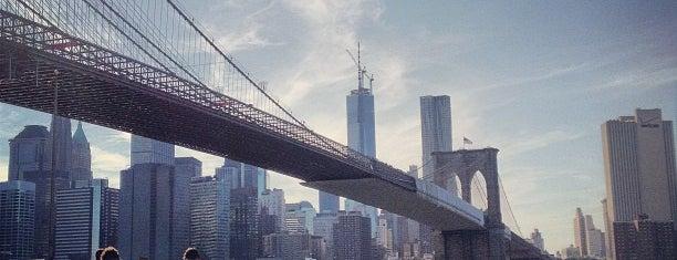 Under The Brooklyn Bridge is one of NYC, yo..