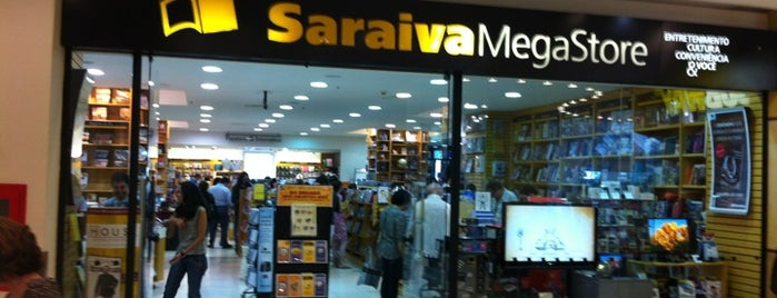 Saraiva MegaStore is one of Top picks for Bookstores.
