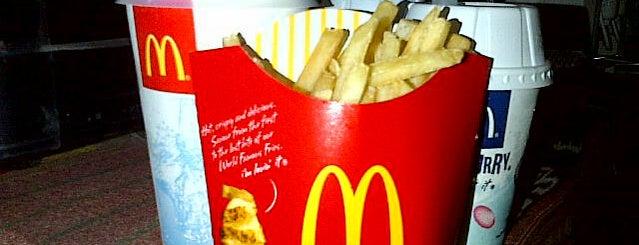McDonald's is one of activity.