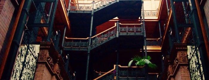 Bradbury Building is one of LA/SoCal.