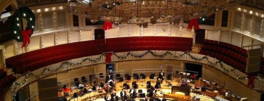 Symphony Center (Chicago Symphony Orchestra) is one of My Culture and Entertainment.