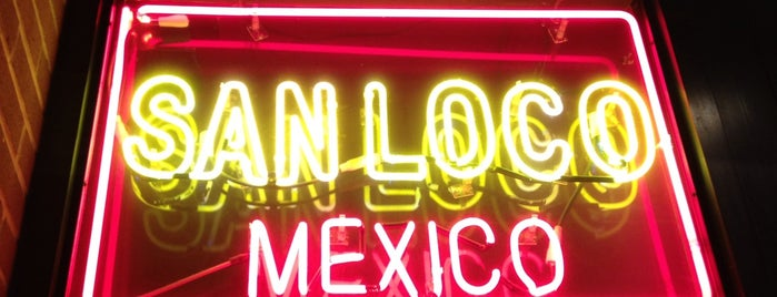 San Loco is one of 2012 Bucket List.