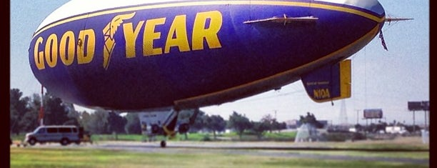 Goodyear Blimp Base Airport is one of Nikki Kreuzer's Offbeat L.A..