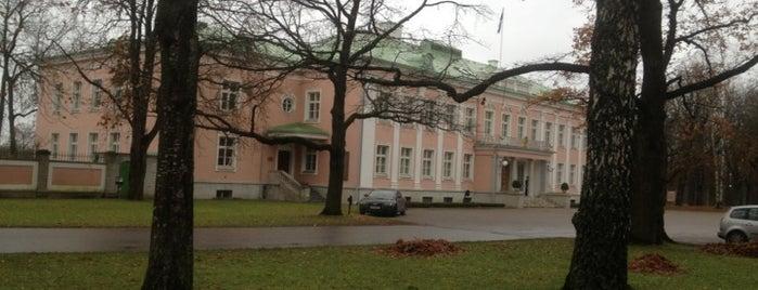Vabariigi Presidendi Kantselei is one of Tallinn #4sqCities.