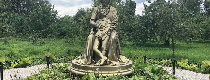Пушкинский парк is one of Вяземы—Захарово.