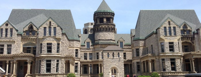 Ohio State Reformatory is one of Best Haunts and Scares-Halloween Part2.
