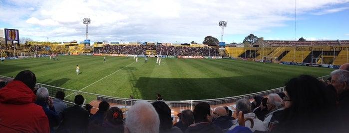 Estadio Roberto Natalio Carminatti (Olimpo) is one of Equipos de 1ra División.