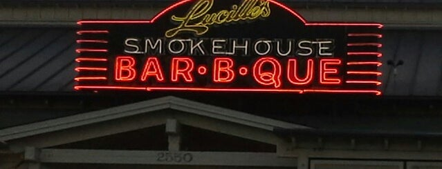Lucille's Smokehouse Bar-B-Que is one of Eat, drink & be merry.