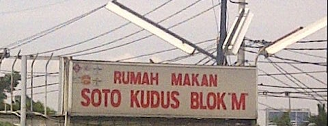 Soto Kudus Blok M is one of All-time favorites in Indonesia.