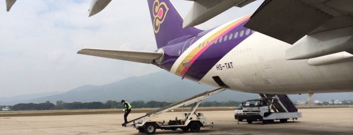 Chiang Mai International Airport (CNX) is one of Greater Chiang Mai.