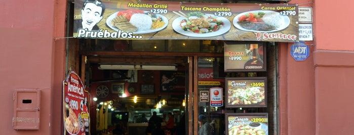 Schopdog is one of Gastronomía en Santiago de Chile.