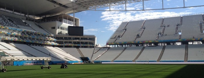 Arena Corinthians is one of Todo dia?.