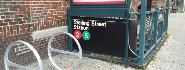 MTA Subway - Sterling St (2/5) is one of NYC Subways 4/5/6.