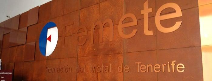 Centro De Formacion De FEMETE is one of Académicas.