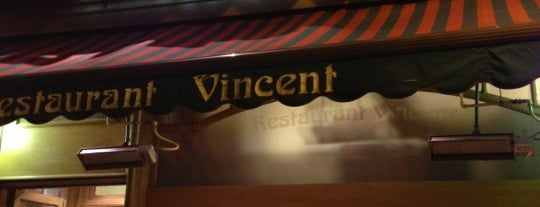 Restaurant Vincent is one of Brussels.