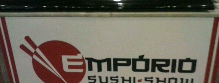 Empório Sushi Show is one of Guia Rio Sushi by Hamond.