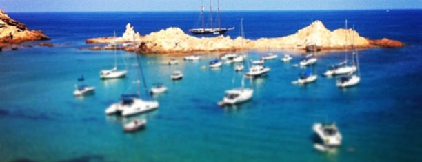 Cala Pregonda is one of MENORCA AGOSTO 12.