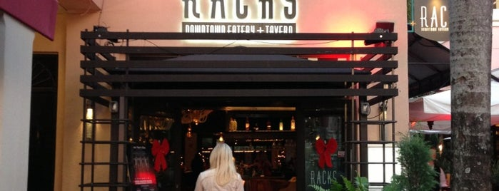 Racks Downtown Eatery & Tavern is one of Peewee's Big Ass South Florida Food Adventure!.