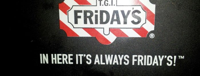 TGI Fridays is one of south bay beach cities.
