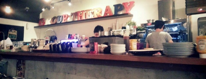 Group Therapy is one of Cafes To Visit!.