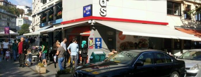 McDonald's is one of destinations  :P.