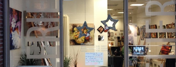 Oznur Art Galerie & Atelier is one of Hannover-List.