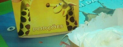 Giraffas is one of afazeres.
