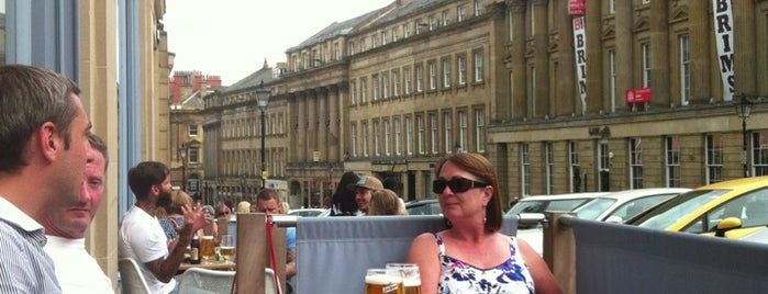 Las Iguanas is one of Newcastle Upon Tyne.