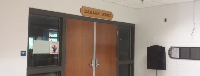 The Eagle's Nest is one of University of Mary Washington.