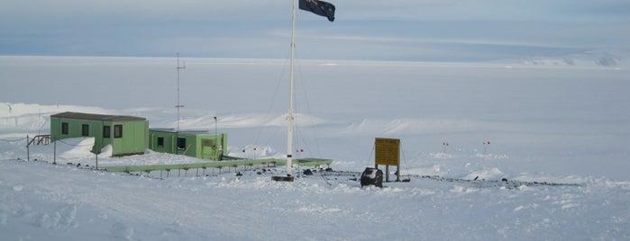 Scott Base is one of Antarctica.