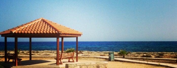 Landa Golden Beach is one of Cyprus beach.