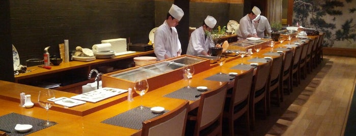 Tsukiji Aozora Sandaime is one of The 15 Best Places for Sushi in Shanghai.
