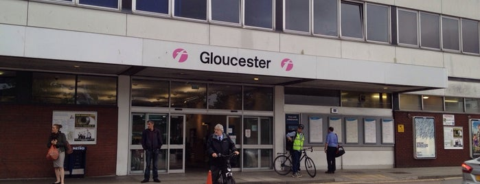 Gloucester Railway Station (GCR) is one of Railway stations I've been to.