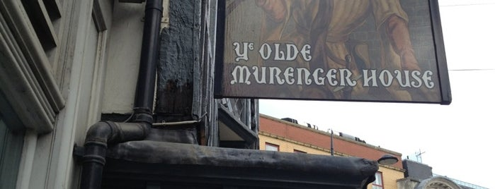Ye Olde Murenger is one of Port80 Newport.