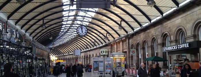 Newcastle Central Railway Station (NCL) is one of Railway stations visited.