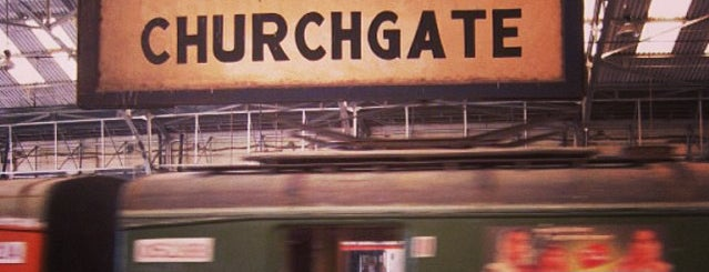 Churchgate Railway Station is one of Mumbai.